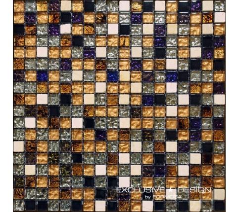 Mozaic de sticla si piatra, 8 mm, Numarul 2