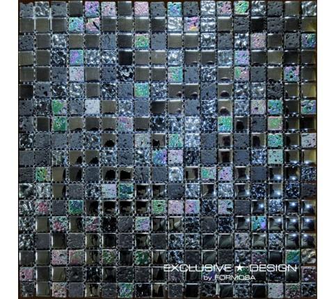 Mozaic de sticla si piatra, 8 mm, Numarul 1