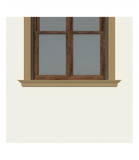 Solbanc decorativ fereastra NS110 120 x 80 x 2000