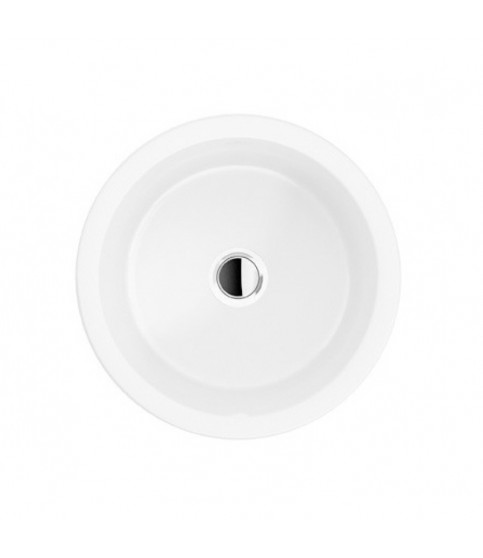 Lavoar alb pe blat rotund VILLEROY&BOSH ARHITECTURA 40 CM