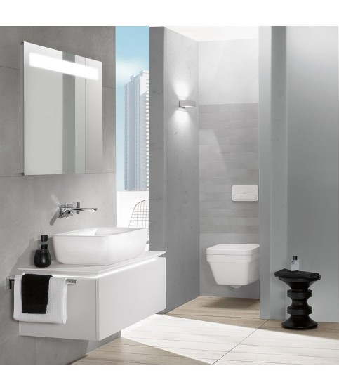 Lavoar pe blat Villeroy & Boch Architectura dreptunghiular 60 cm alb alpin