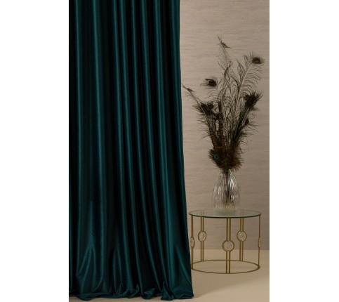 Draperie Deco catifea VELLUTO 40.3 smarald 280 cm