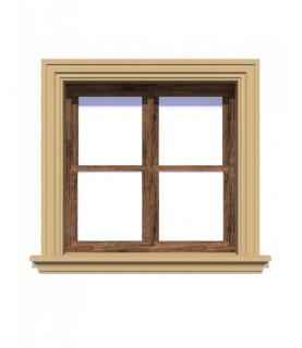 Ancadrament decorativ fereastra NA105 175 x 40 x 1250