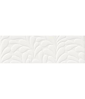 Cutie faianta Moon Line White Satin Structure