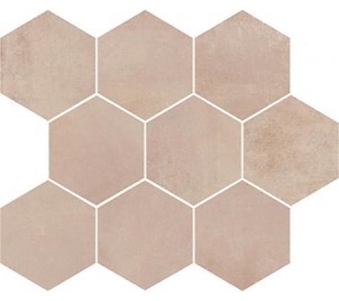 Faianta Arlequini Mosaic Hexagon