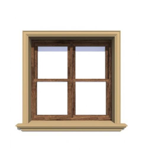 Ancadrament decorativ fereastra polistiren NA102 95X30X2000