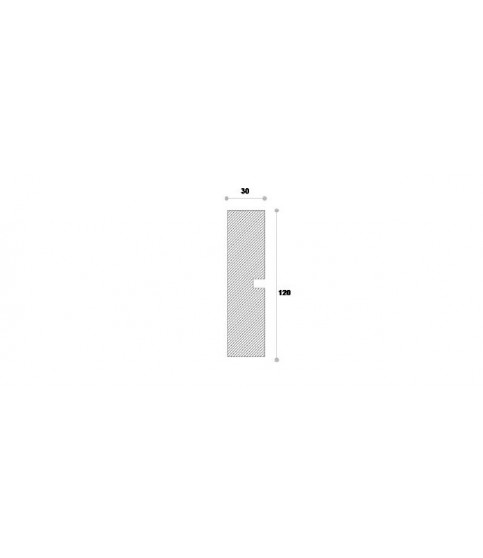 Ancadrament Decorativ Fereastra Polistiren NA108 120X30X2000