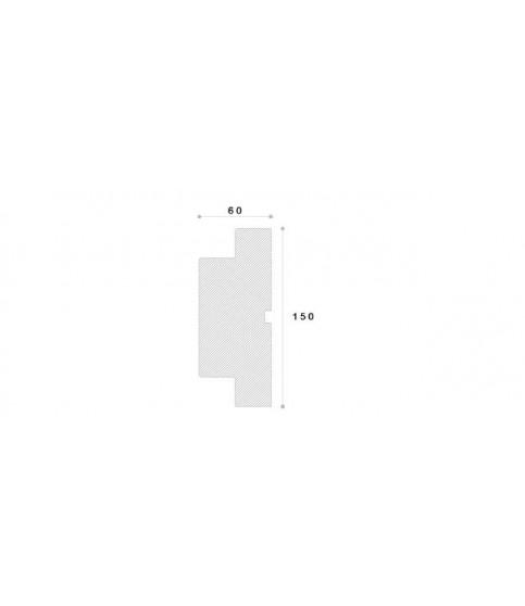 Ancadrament Decorativ Fereastra Polistiren NA220 150X60X2000
