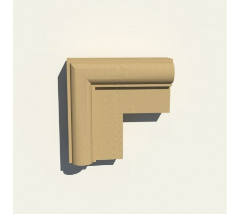 Set colt 90 grade Ancadrament Decorativ Fereastra Polistiren NA110 170X170X55