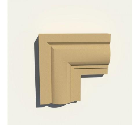 Set Colt 90 Grade Ancadrament Decorativ Fereastra Polistiren NA118 200X200X40
