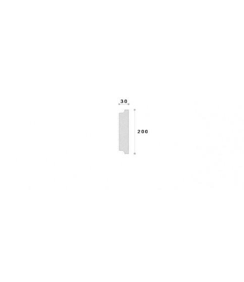 Coltar decorativ exterior NCL102 200X30X300