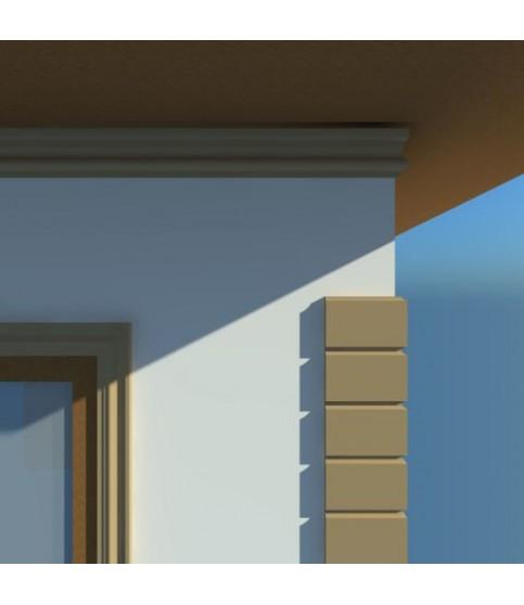 Cornisa Decorativa Exterior NC101 170X45X2000