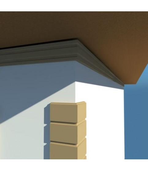 Cornisa Decorativa Exterior NC102 195X40X2000