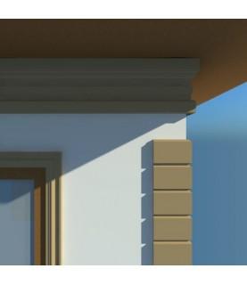 Cornisa Decorativa Exterior NC139 410X80X2000