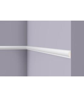 Brau alb decorativ poliuretan SP1 28x9x2000