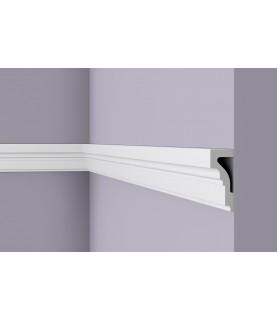 Brau alb decorativ Wallstyl WL4 100x40x2000