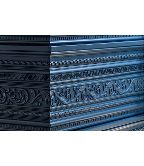 Brau Perete Decorativ Poliuretan Z1 105x40x2000