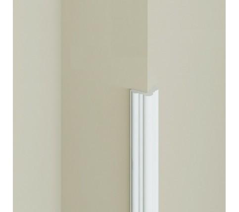 Brau Alb Decorativ Polimer Rigid B2 2.7X2.7X200