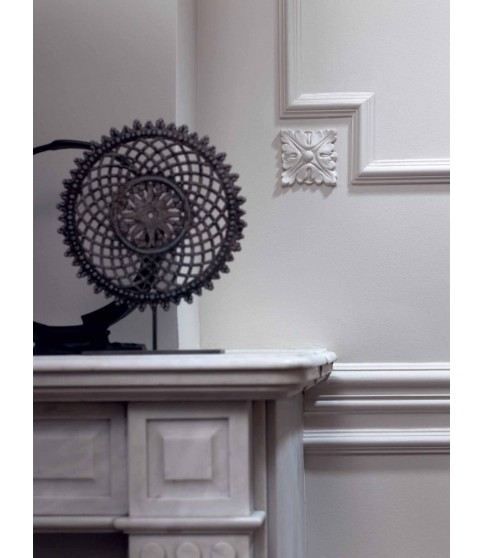 Brau Alb Decorativ Polimer Rigid B4 4X1.9X200