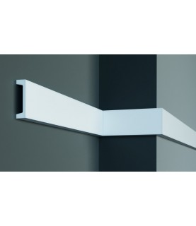 Brau alb decorativ poliuretan CR951 9X2.4X200
