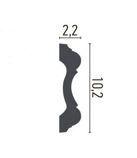 Brau Alb Decorativ Poliuretan CR955 10.2X2.2X200
