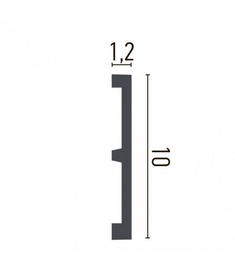 Brau Alb Decorativ Poliuretan CR956 10.1X2X200