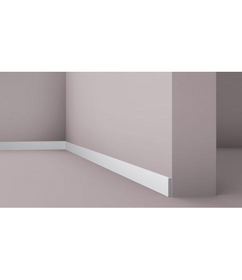 Plinta alba decorativa Wallstyl FL10 50X8X2000