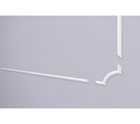 Coltar Alb Decorativ Arstyl SP3-4 153x153