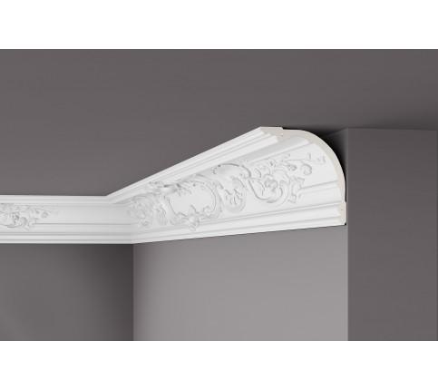 Colt cornisa alba decorativa poliuretan Z41 174x174x2000