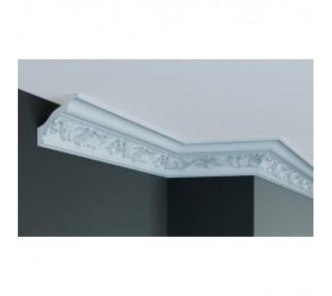 Cornisa alba decorativa poliuretan C709 8.2x5.8x244