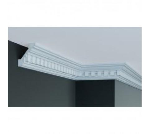 Cornisa alba decorativa poliuretan C710 7.6x6.4x200