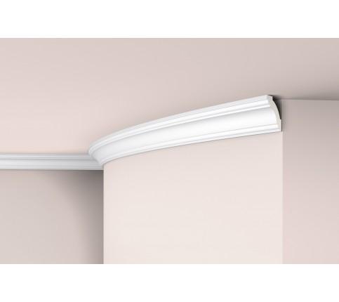 Cornisa alba decorativa poliuretan Z1240 Flex 40x40x2000