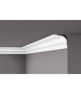 Cornisa alba decorativa poliuretan Z6 120x125x2000