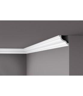 Cornisa alba decorativa polimer dur WT10 84x84x2000