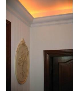 Cornisa Tavan Decorativa Polimer Rigid C9 5x5x200