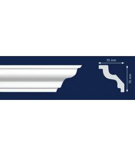 Cornisa Alba Decorativa Polistiren Dens SM3 7x7x200