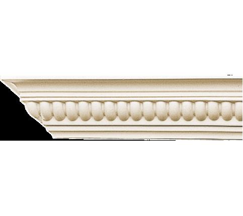 Cornisa alba decorativa poliuretan C705 6x6x200