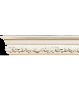 Cornisa alba decorativa poliuretan C713 8.4x3.4x200