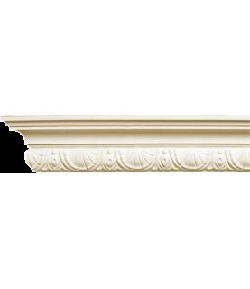 Colt cornisa alba decorativa poliuretan C714 7.1X5.4X200