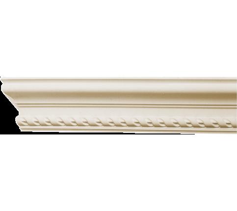 Cornisa alba decorativa poliuretan C715 10.4x5.7x200
