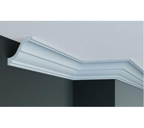 Cornisa Alba Decorativa Poliuretan P876 8x8.5x200