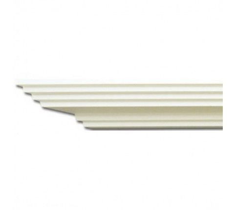 Cornisa Alba Decorativa Poliuretan P903 4.6x10.3X200