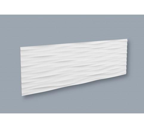 Panou Alb Decorativ 3D Arstyl WAVE 380X1135X18.5