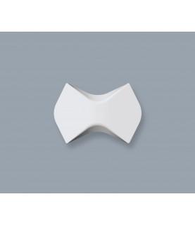 Panou Alb Decorativ 3D Arstyl WING 175X250X25