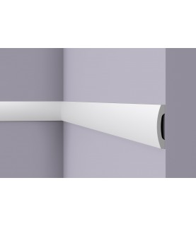 Plinta alba decorativa Wallstyl FD3 100X20X2000