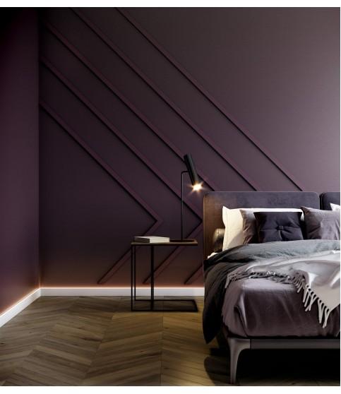 Plinta alba decorativa Wallstyl IL10 80X23X2000