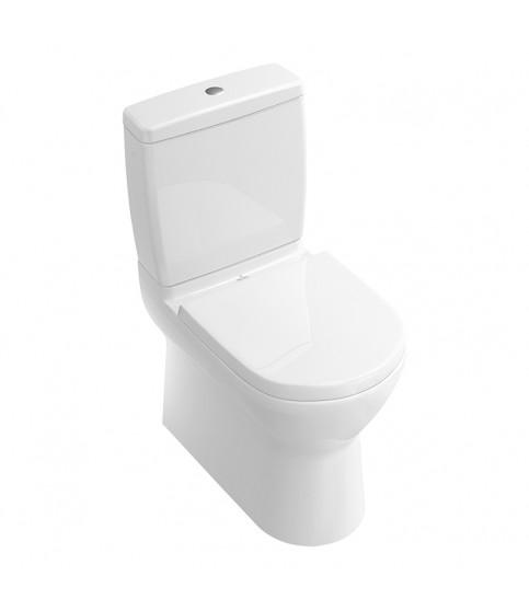 Rezervor Villeroy & Boch, O.Novo, monobloc pentru vas WC compact