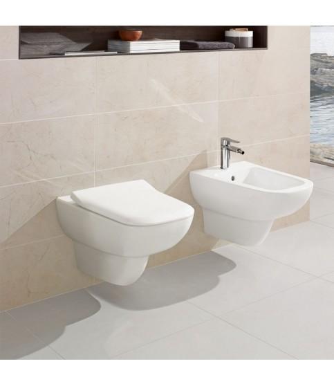 Vas WC suspendat Villeroy & Boch, Joyce, direct flush, alb