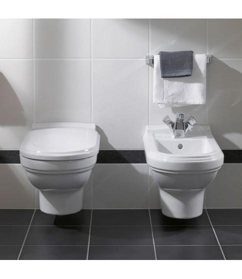 Vas WC suspendat Villeroy & Boch, Hommage, CeramicPlus, alb