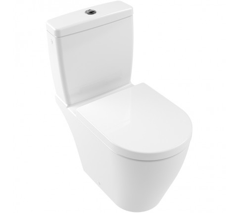 Vas WC stativ, Villeroy & Boch, Avento, alb